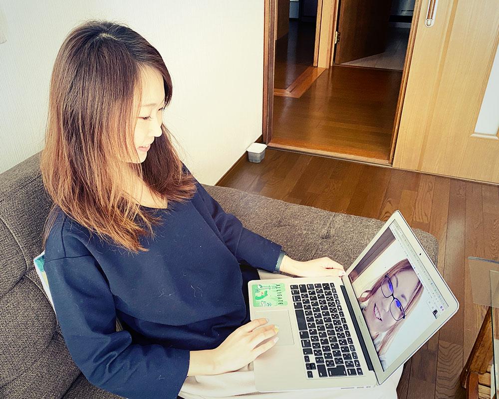石川さん「広報チームのミーティングは週1であとは日々チャットで連絡しあってます。」