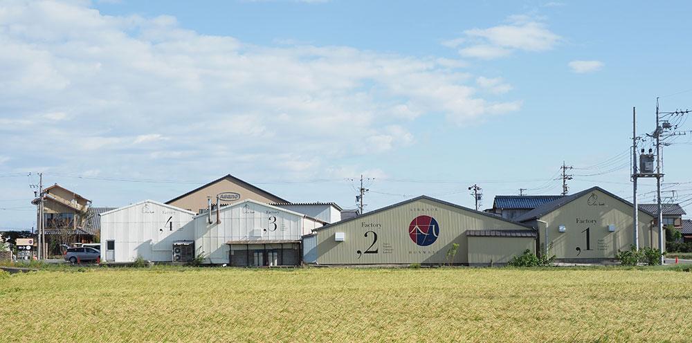 岐阜県にある浅野撚糸本社