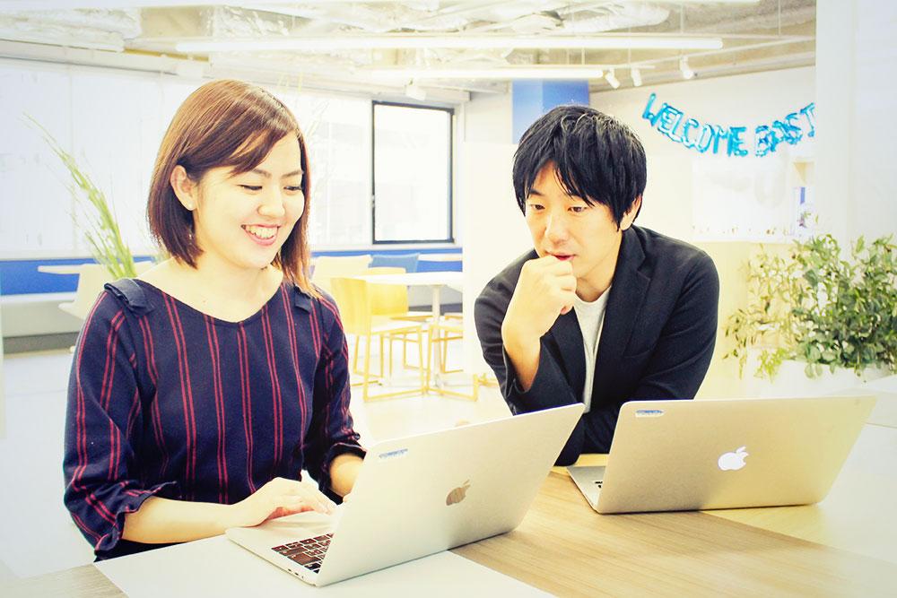 奧田さんと上司の角田さん