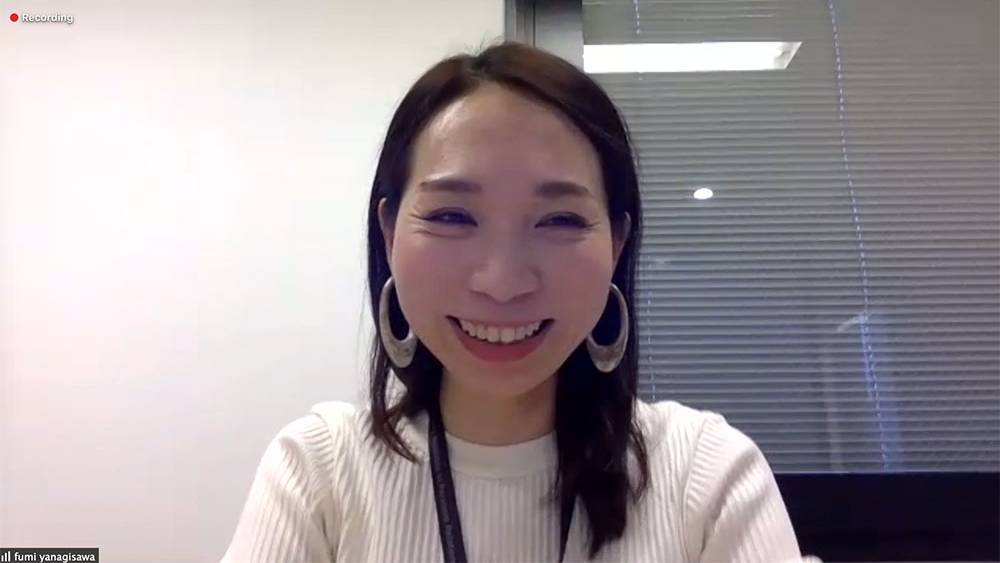 株式会社ココナラの広報、柳澤芙美さん。