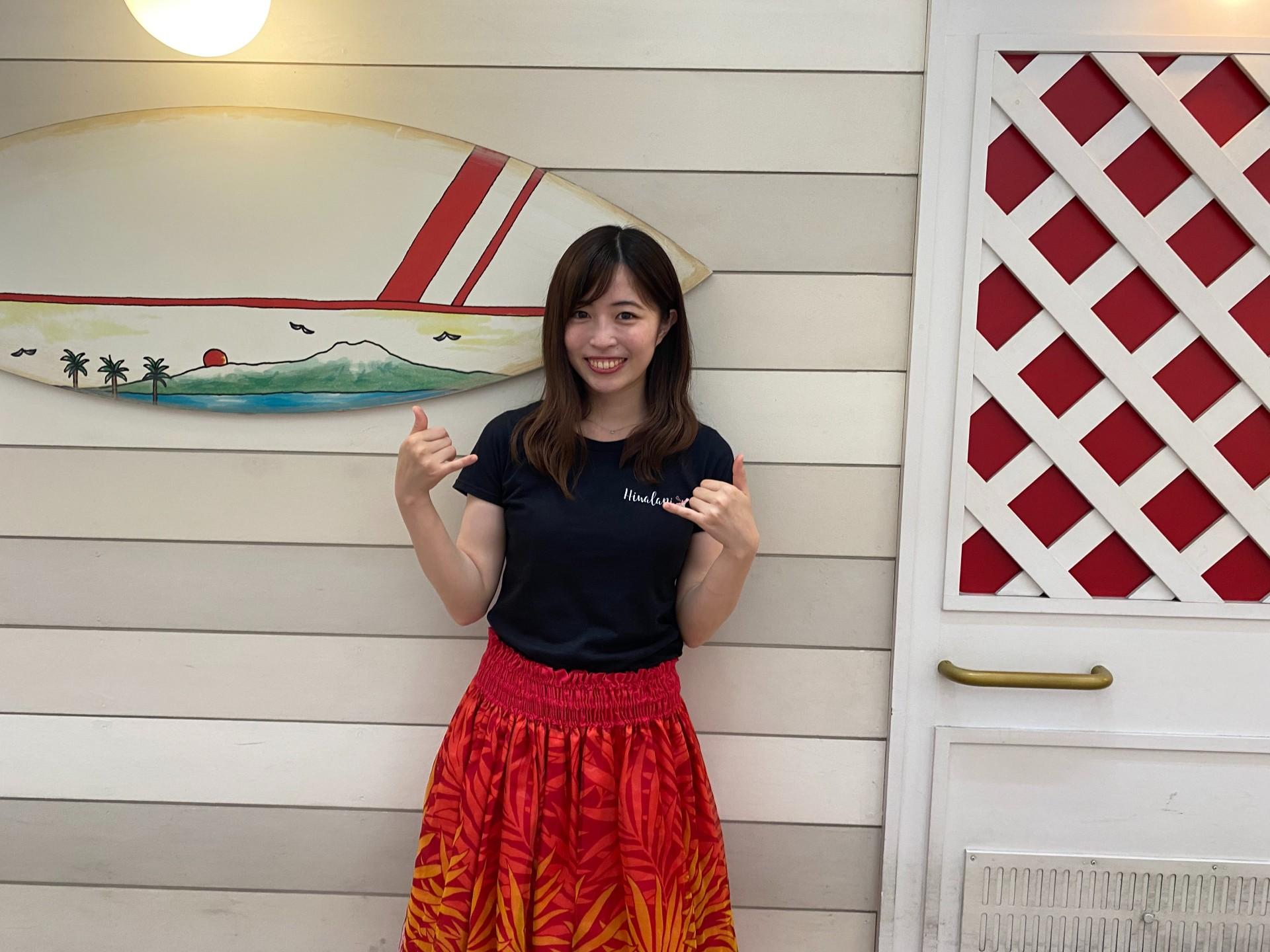 月岡さんはプライベートでは旅行が趣味だが、今は行けないのでお散歩や読書を!