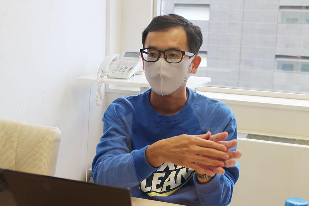 田邊さん「粉のオキシクリーンだけではなく、衣類のシミ・汚れにピンポイントに使用するプレケア商品の販促にも力を入れていきたいと思っています。」