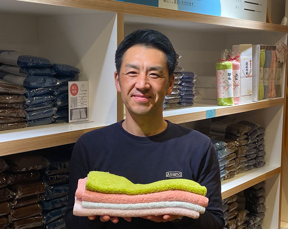浅野撚糸株式会社 河合達也(かわい・たつや)さん