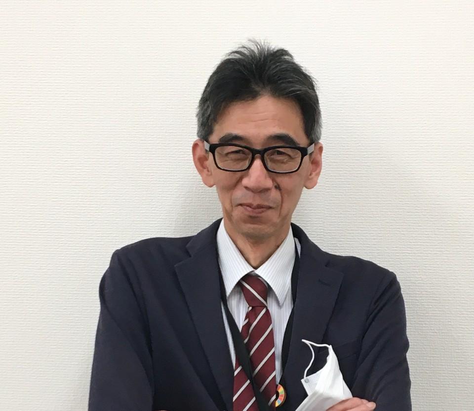開発統括部マーケティング室商品企画課 若林伸一郎(わかばやし しんいちろう)さん