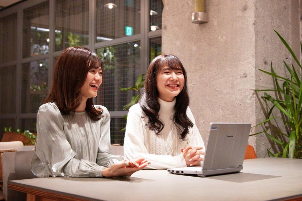 木村さんと江川さんは本当に仲がよい。営業の時は競合がライバルでも、広報となると同じ業界で一緒に頑張る仲間。