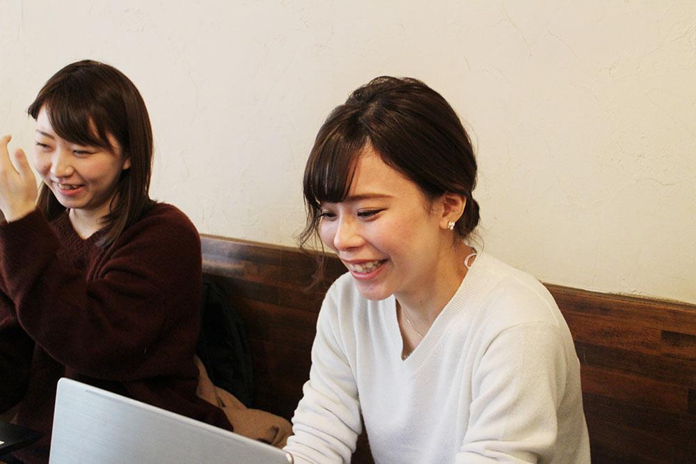 和田さん「顔出しに抵抗は、めちゃめちゃありました(笑)」社長から「やってみない?」と言われたのが始めたきっかけ。