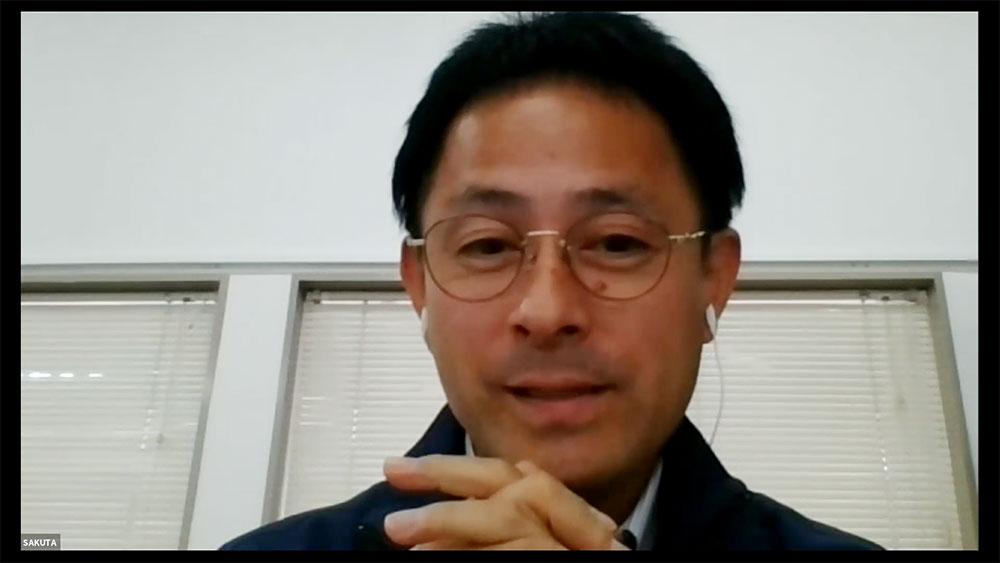 作田さん「50~60代の方からは「さとの雪」の豆腐は昔ながらの豆腐の味がすると好評をいただいています。」