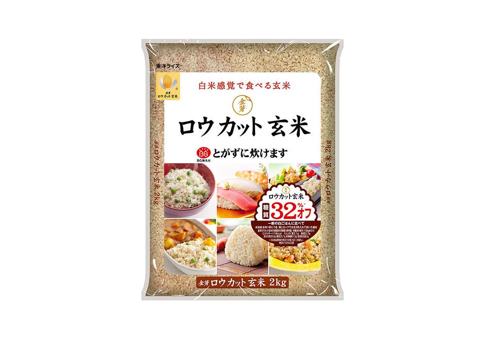 東洋ライス株式会社「金芽ロウカット玄米」